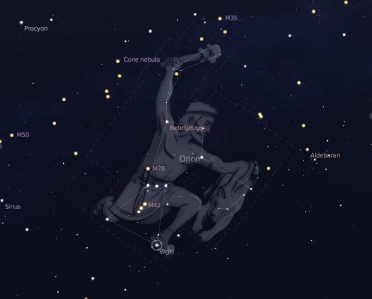 Constellation d'Orion