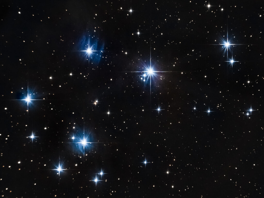 Amas des Pleiades (M45)